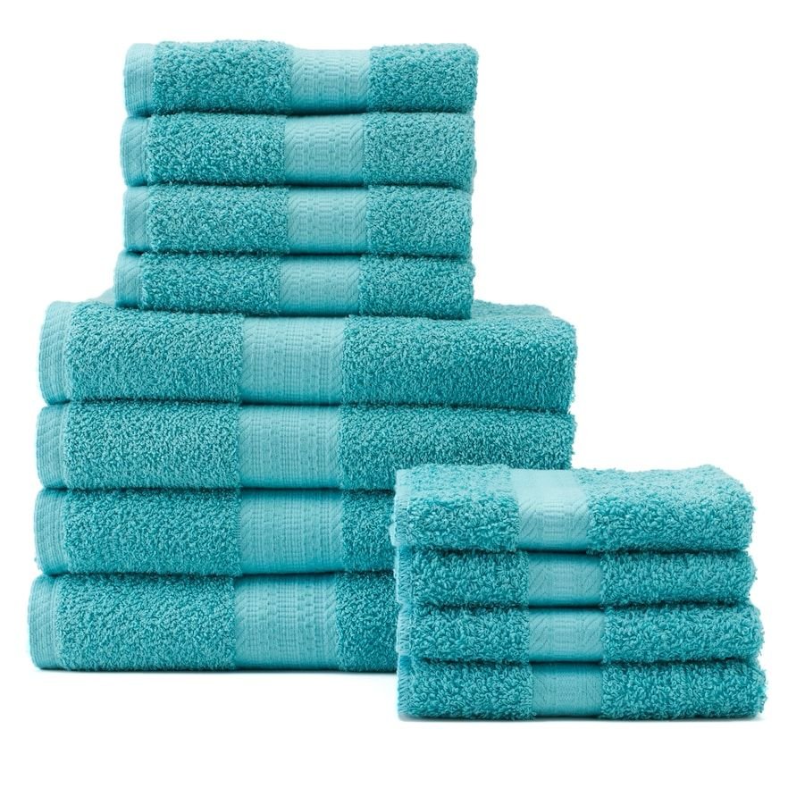 The Big One 12 Pc Bath Towel Value Pack Bath Towels Towel