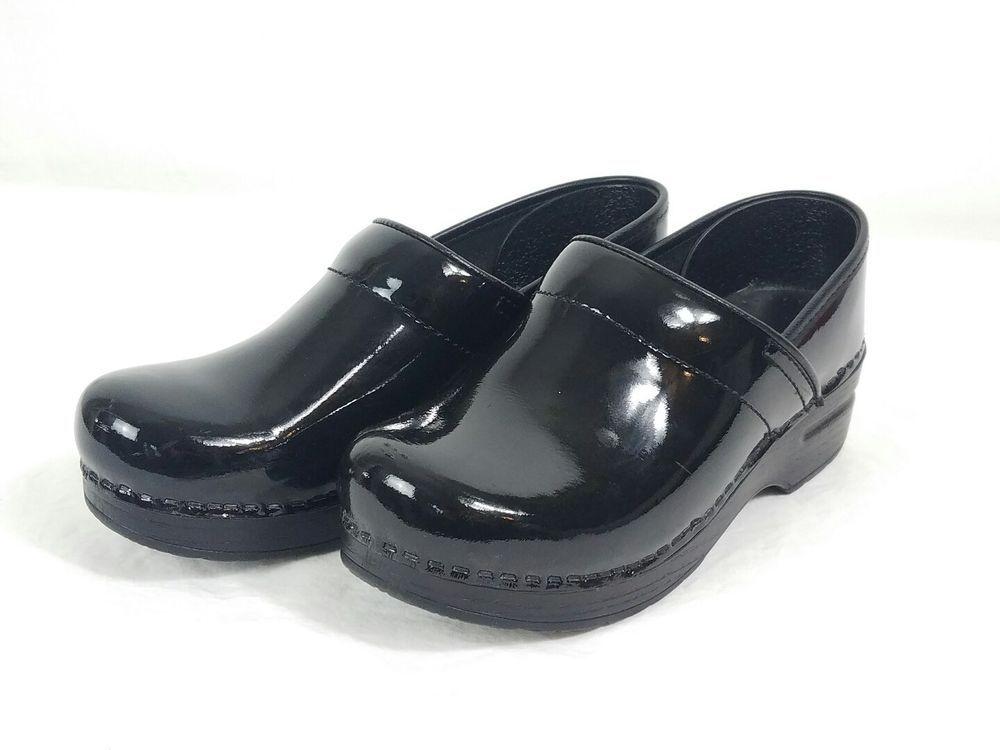 Womens clogs, Black patent leather, Clogs
