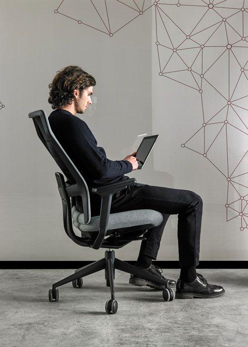 Ergonomic Desk Chair For Intensive Use Tnk Flex Actiu Office