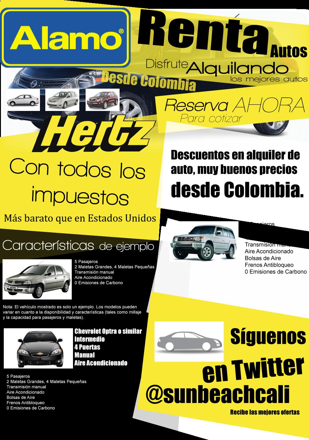 Renta De Autos Desde Colombia Con Las Mejores Hertz Renta Car Y