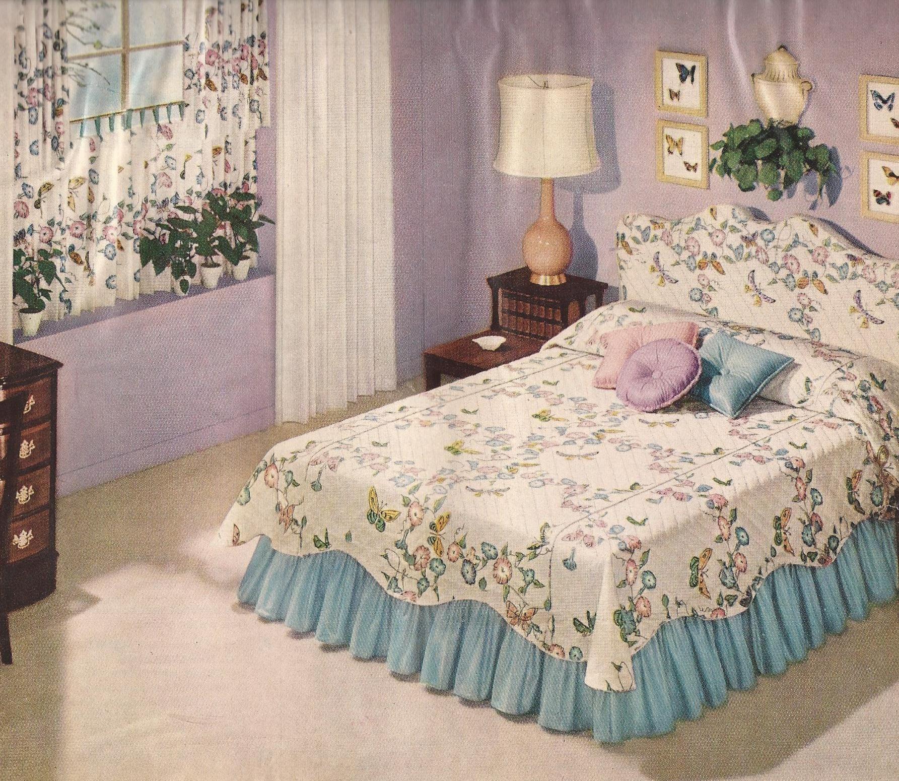 Retro Style Bedroom Ideas