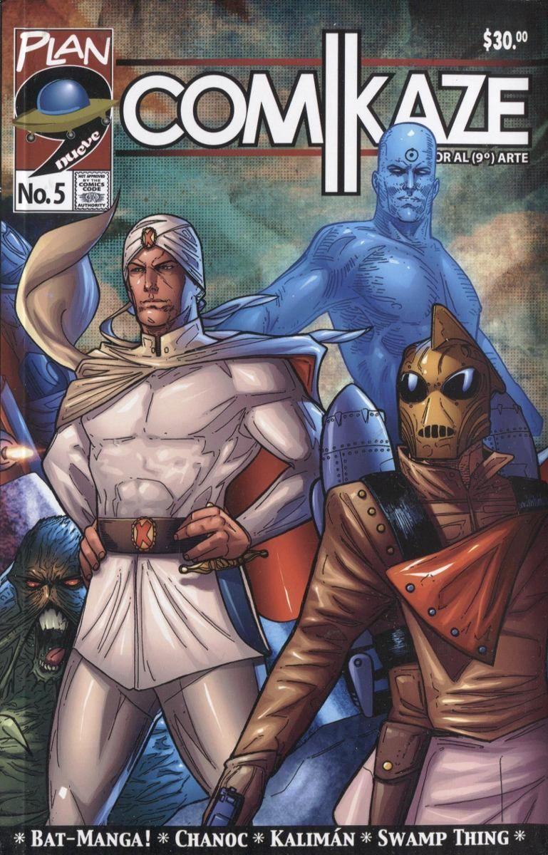 Kaliman en revista comikaze el santo fantomas el
