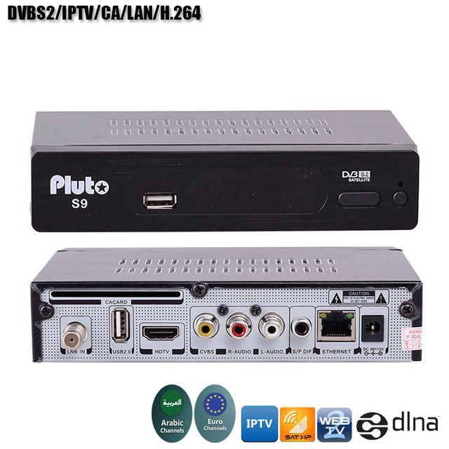 Smart Digital Satellite TV Receiver DVB-T2+DVB-S2 FTA 1080P Decoder`Tuner NINJ