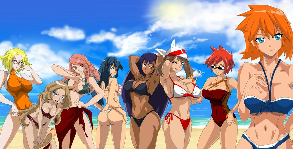 Sexy Gym Leaders