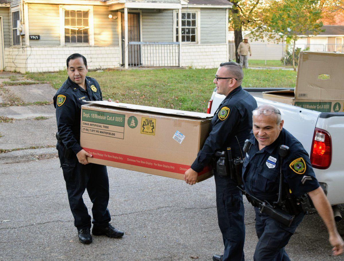 HPD Eastside Service Officers delivering