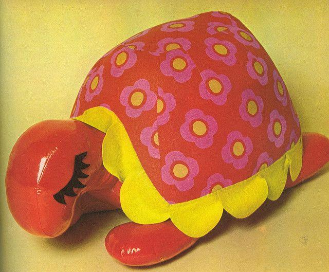 Tortoise Pouffe 1973