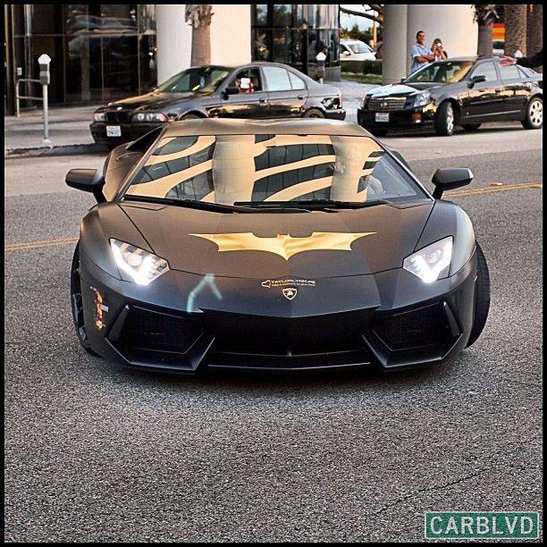 The Awesome Lamborghini BatAventador
