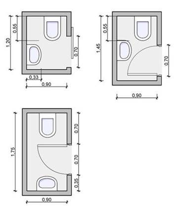 Image Result For Small Powder Room Layout