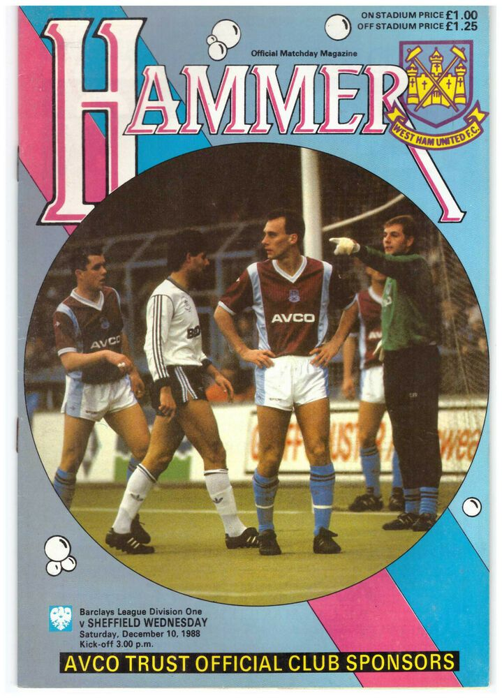 West Ham United v Sheffield Wednesday Official Match Day