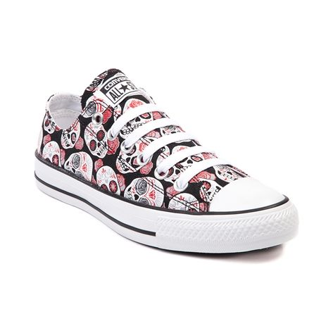 Shop for Converse All Star Lo Skulls Sneaker in Black Red at Shi by Journeys.  Shop today for the hottest brands in womens shoes at Journeys.com. 1e7a3bcbb