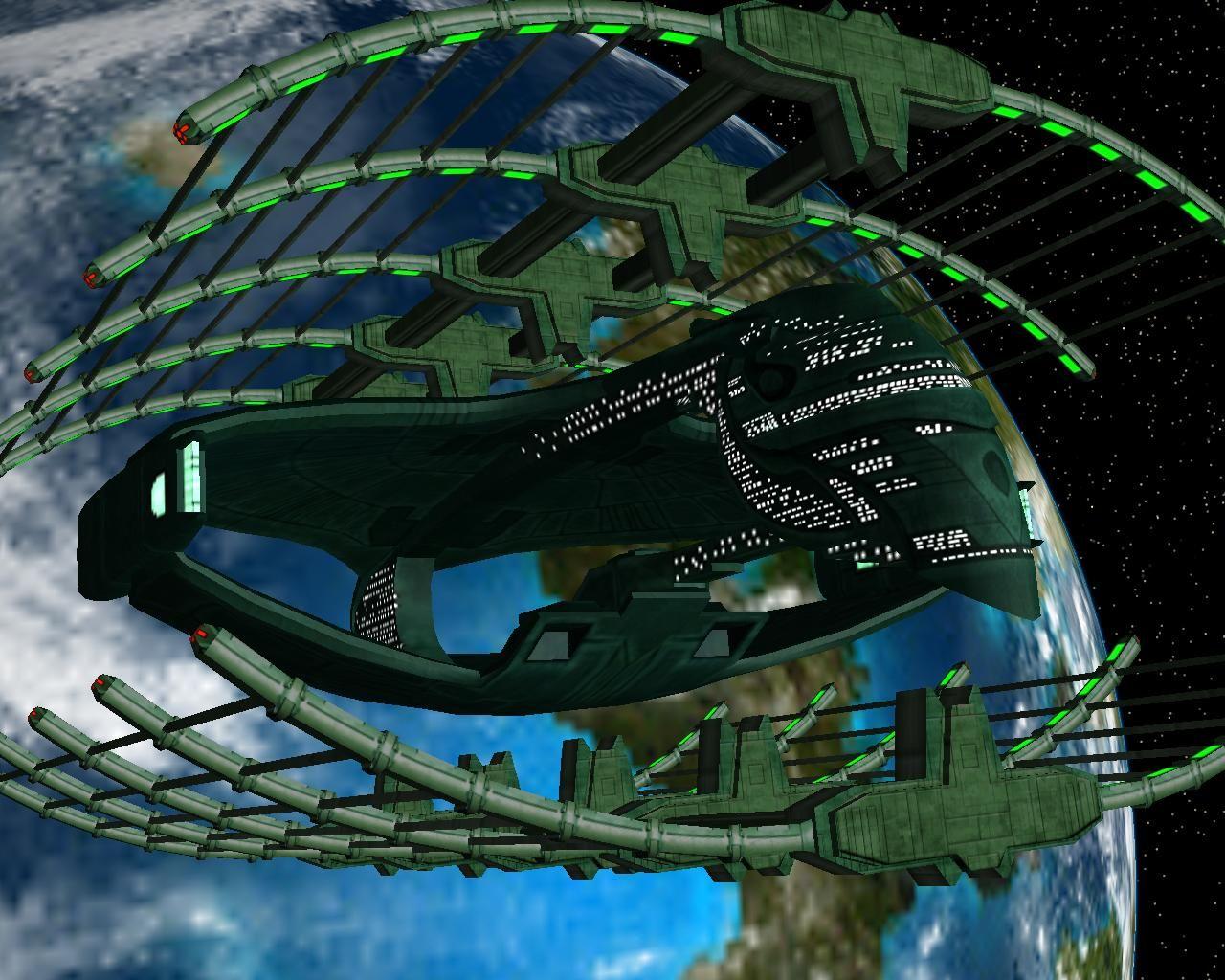 Romulan Drydock by archangel72367deviantartcom on
