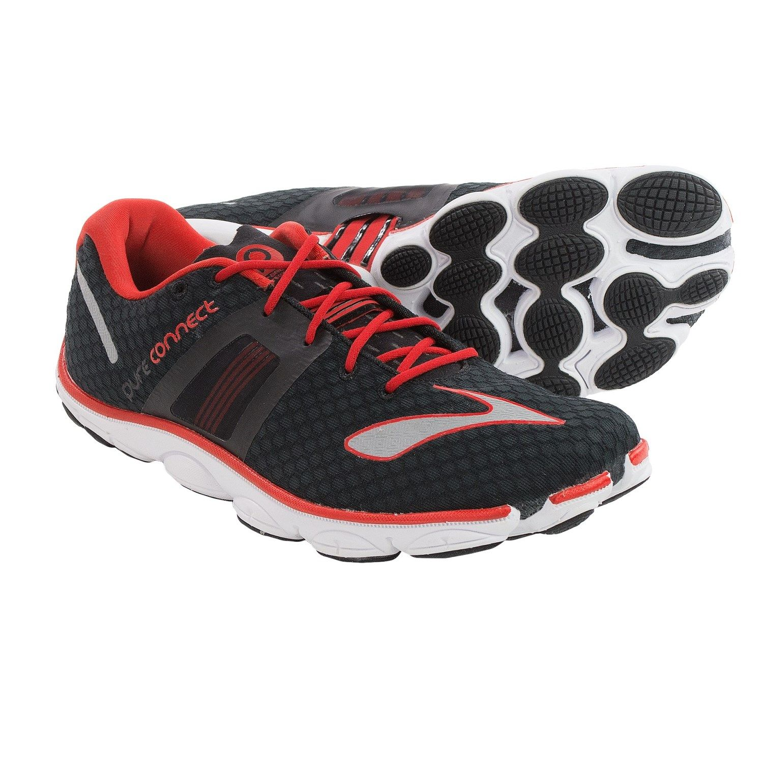 http://i.stpost.com/brooks-pureconnect-4-running-shoes-minimalist-for-men -in-black-high-risk-red-silver~p~106wv_01~1500.2.jpg | My Shoes | Pinterest