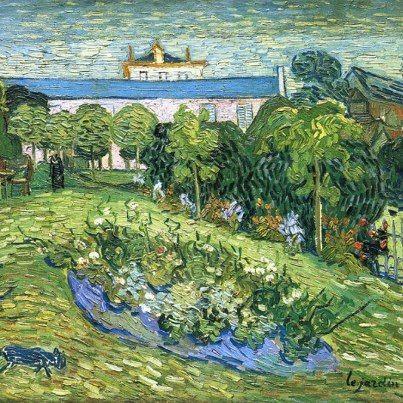 Vincent Van Gogh Il Giardino Di Daubigny 1890 Arte Van Gogh Van Gogh Pinturas Pintores
