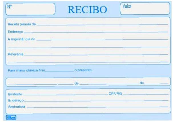 Recibo De Aluguel Modelo De Recibo De Aluguel Em Excel Com