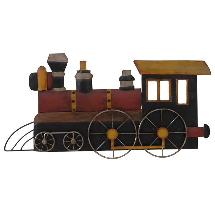 Train Wall Art ♥ ♥ train 2 metal wall art ♥ ♥ - discovered at www.dcgstores