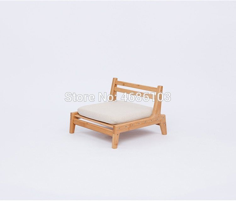 Letto A Castello In Bamboo.Japanese Legless Zaisu Chair With Cushion Bamboo Backrest Chair