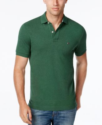 979e88eb3 TOMMY HILFIGER Tommy Hilfiger Men'S Custom-Fit Ivy Polo. #tommyhilfiger # cloth # polos