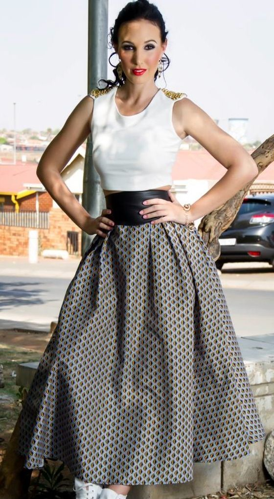 African fashion khosi nkosi african prints traditional gear