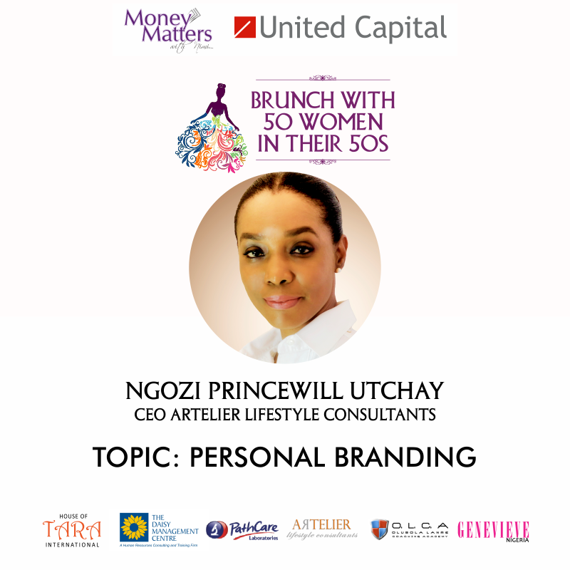 "INTRODUCING THE SPEAKERS: Ngozi Princewill Utchay is an Etiquette and Image Advisor/Trainer and Personal Branding Coach certified by foremost institutions in the UK, UAE and Switzerland. Founder/CEO, Artelier Lifestyle Consultants, Ngozi has ""..a burning desire to help people gain greater clarity and confidence in their image, where they're equipped to be and accomplish more."" Register now to listen to our esteemed speakers at the #MMWNBrunch. Very limited seats available"