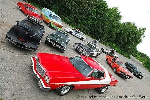 Movie Cars 1970s