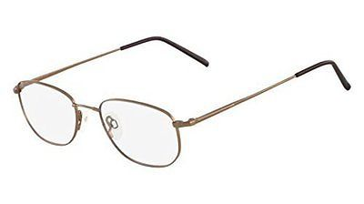 3b08bca8bc0 Other Unisex Accessories 155191  Flexon Flexon 600 Eyeglasses 200 Shiny  Brown Demo 54 18 145