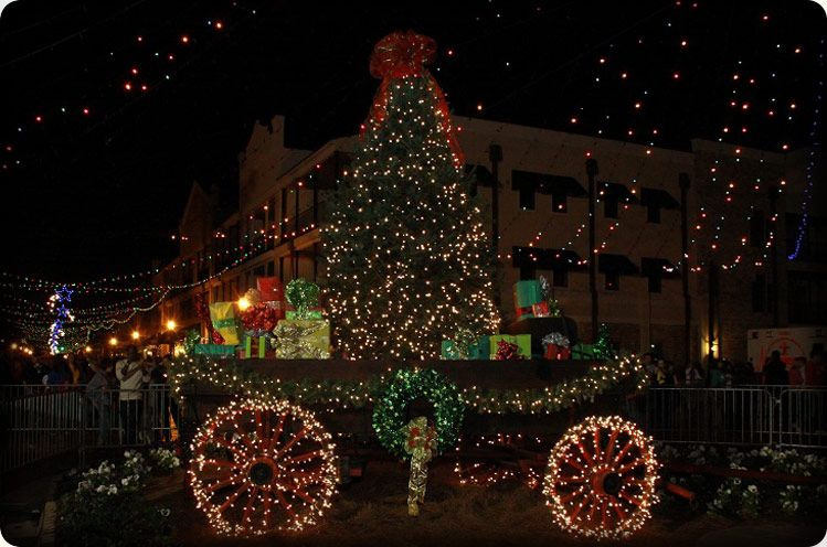 Natchitoches Christmas Lights 2013 Official Festival