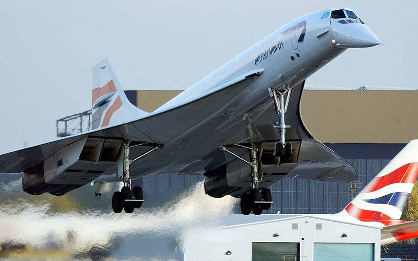 Image result for The Concorde supersonic jet