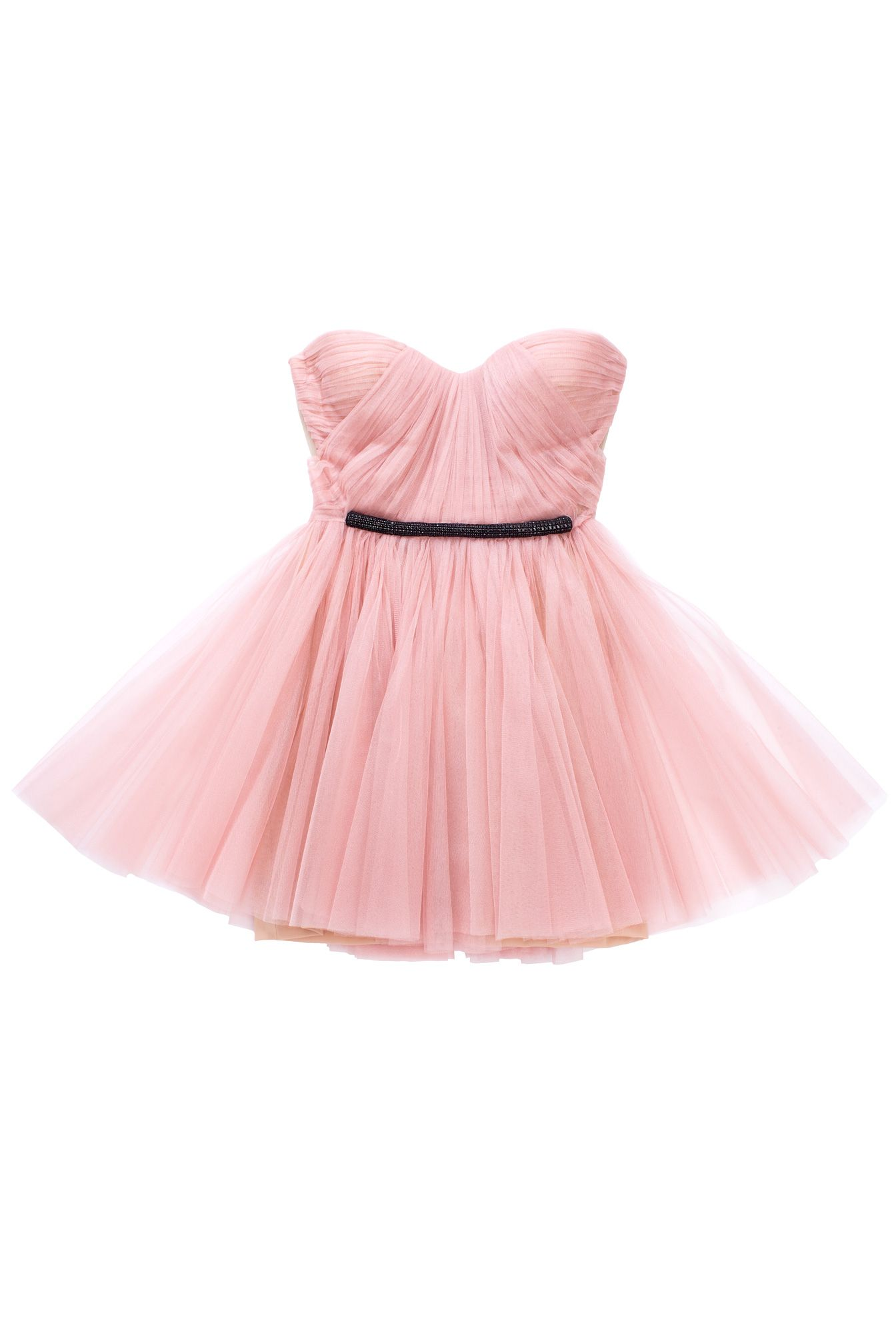 Pink tutu dress / maria lucia hohan