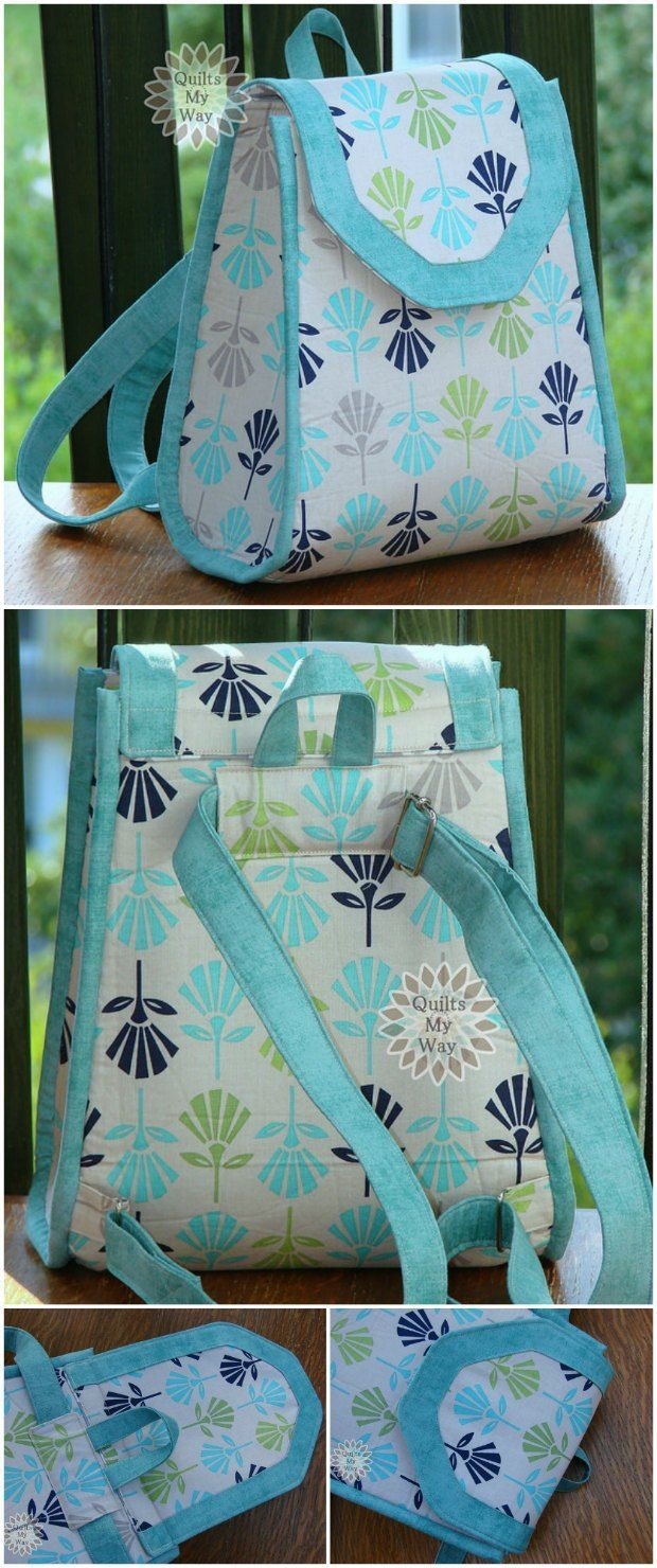 Photo of Promise Ring Backpack sewing pattern – Sew Modern Bags
