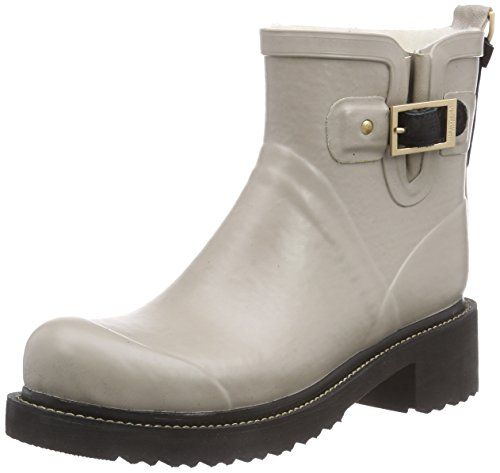 Ilse Jacobsen Rub60-149, Women's Cold Lined Rubber Boots Short Shaft Boots  & Bootees, Grey (atmosphere (149)), 4.5 UK