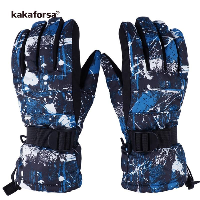 6af589cd5c01 Kakaforsa New Warm Winter Ski Gloves Waterproof Windproof Breathable Skiing  Gloves Outdoor Motorcycle Women Men Snowboard Glove.