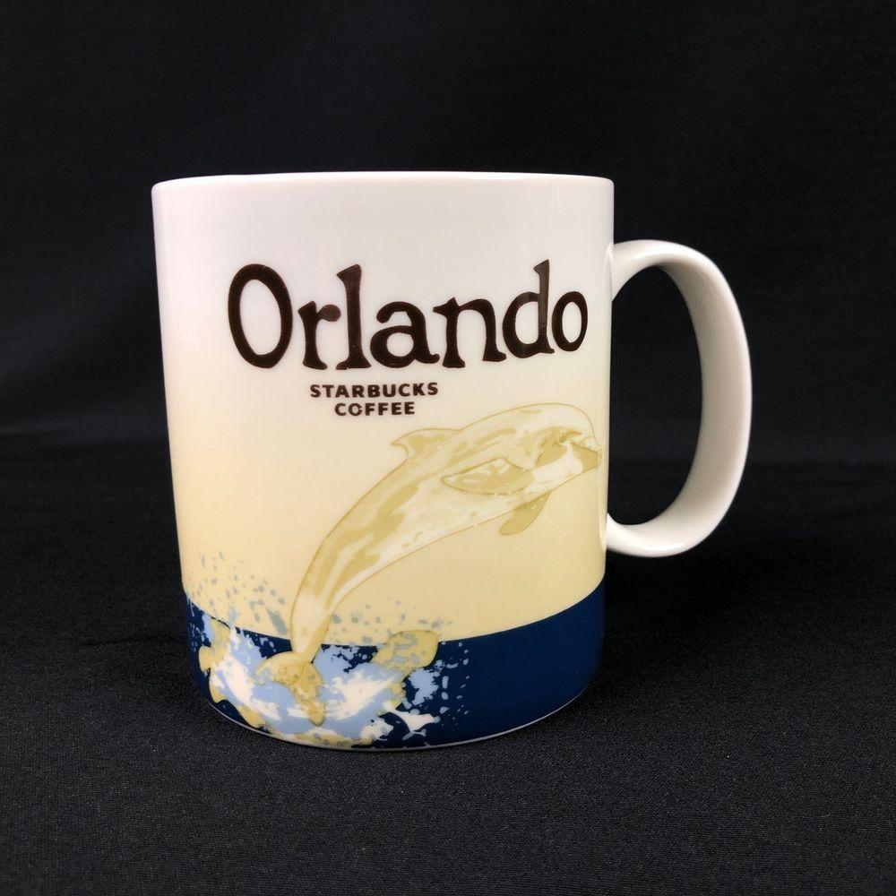 Starbucks 2012 Coffee Mug Cup Orlando City Global Icon