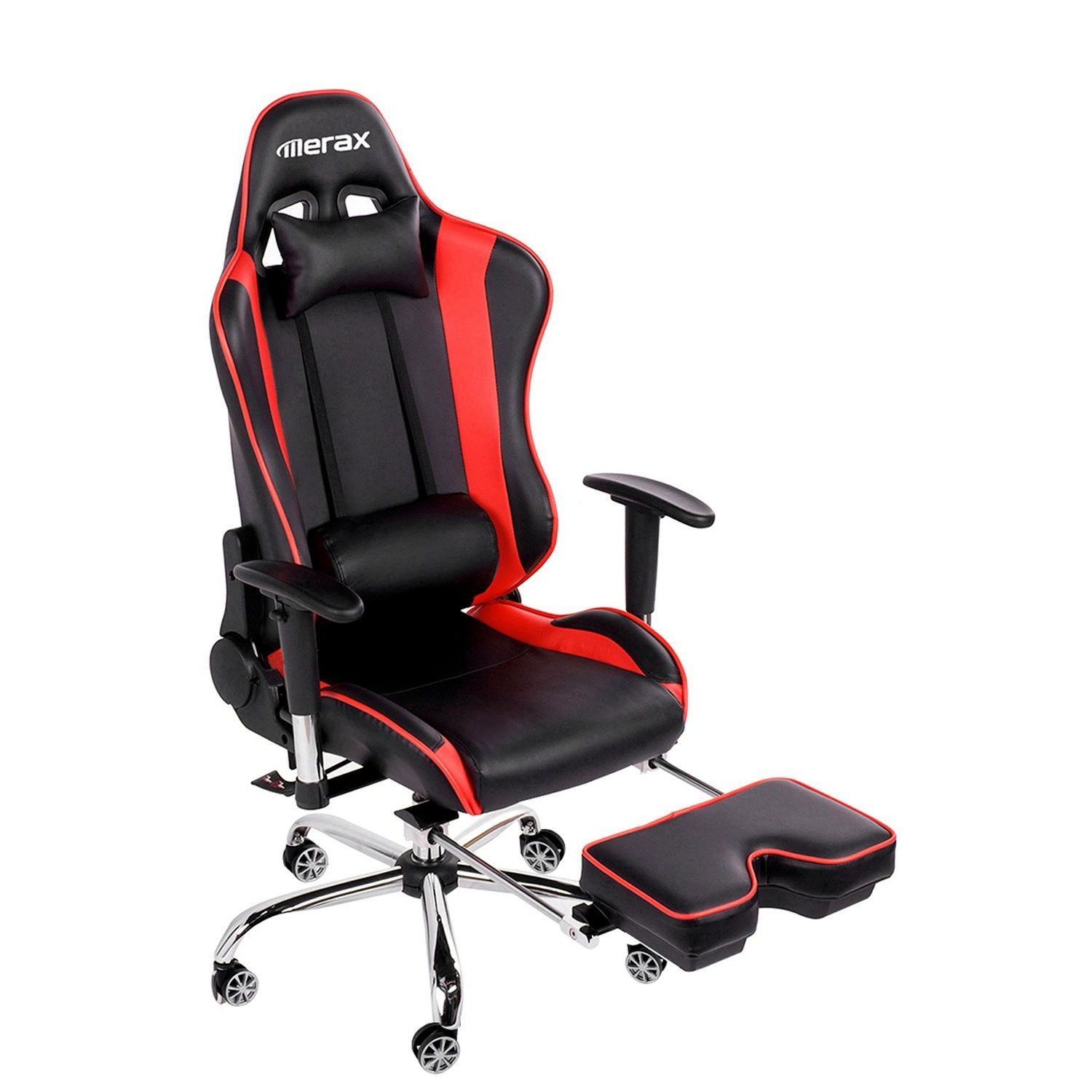 Merax And Tall Back Ergonomic Racing Style Computer Gaming Office Chair
