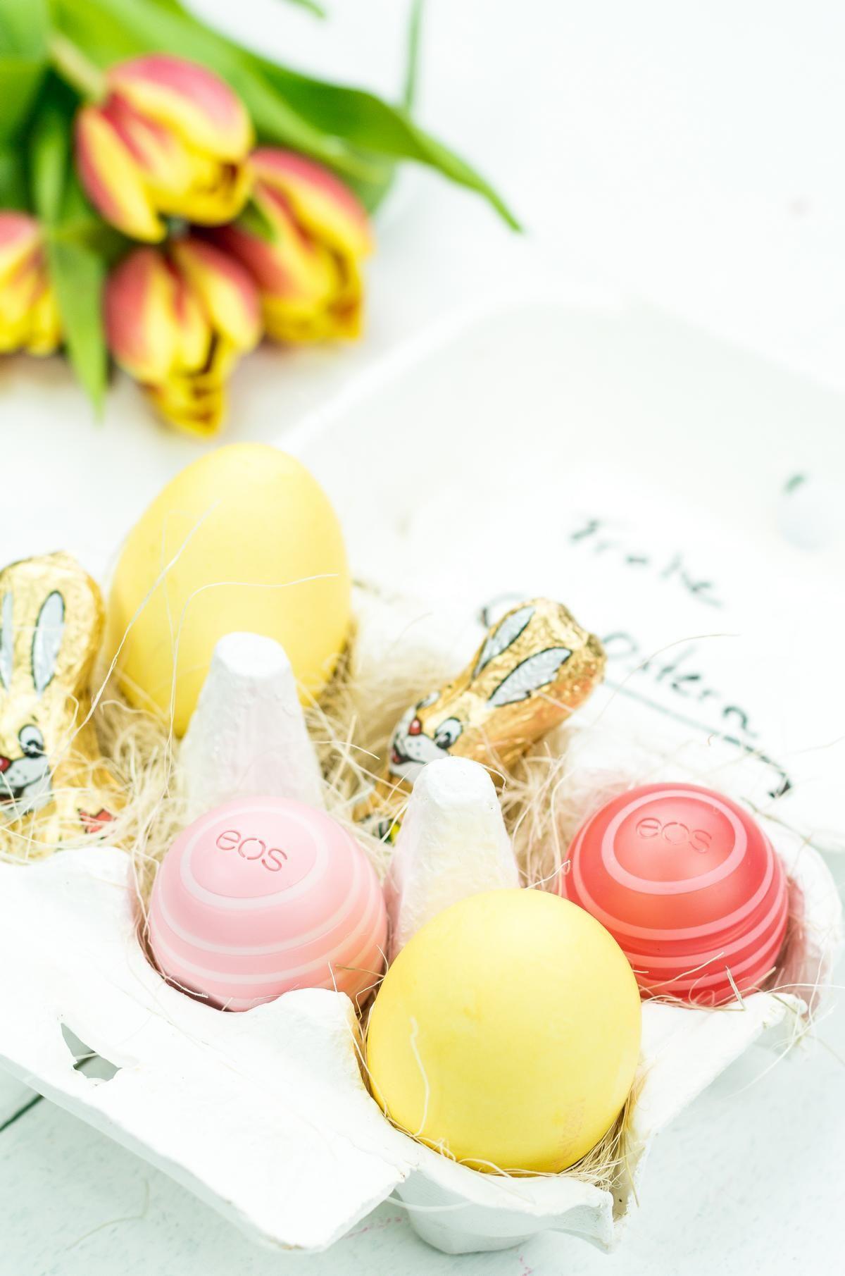 DIY Osternest im Eierkarton basteln - Geschenkidee inspiriert von eos