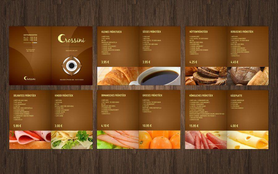 crossini bakery menu cardmrblaqdeviantart on