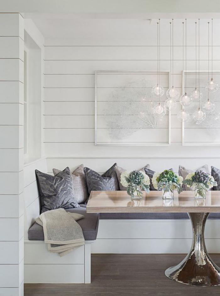 Pourquoi Choisir Une Table Avec Banquette Pour La Cuisine Ou La Salle A Manger Archzine Fr Home Nook Furniture Interior Design