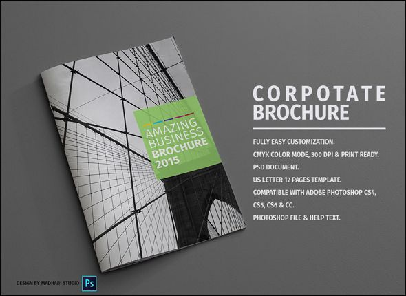 100 Free Professional Brochure Template Psd Designs Brochures