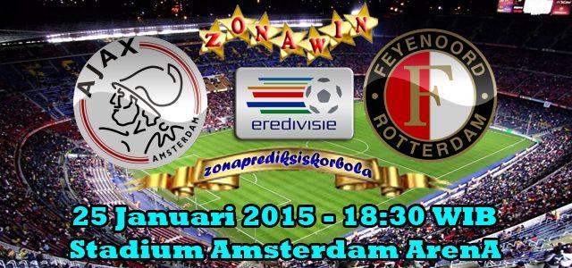 Prediksi Ajax Vs Feyenoord 25 Januari 2015 1 Februari Februari Belanda