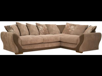 Buoyant Alex Right Hand Facing Corner Sofa   High Density Foam Filled Seat  Cushions £824.60