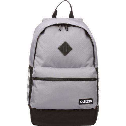 d50f2ce01f09 Adidas Classic 3-Stripes Backpack Grey Black - Backpacks at Academy Sports