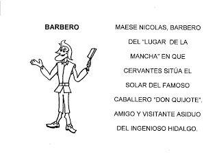 Librito Los Personajes De Don Quijote De La Mancha Quijote De La Mancha Don Quijote Dia Del Idioma