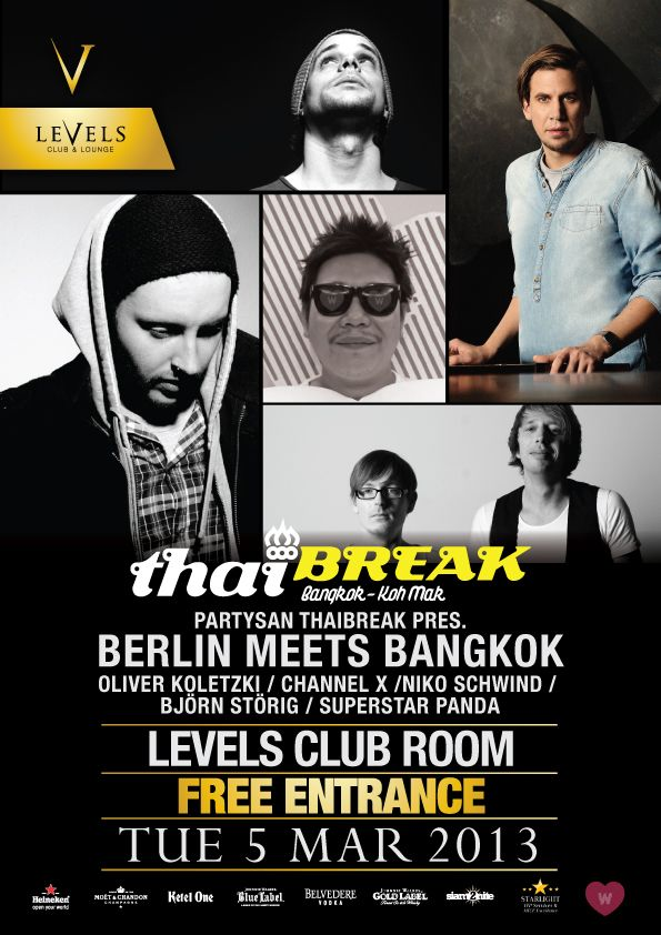Partysan-Thaibreak 5th of March 2013 / Check in on FourSquare for Free Entry