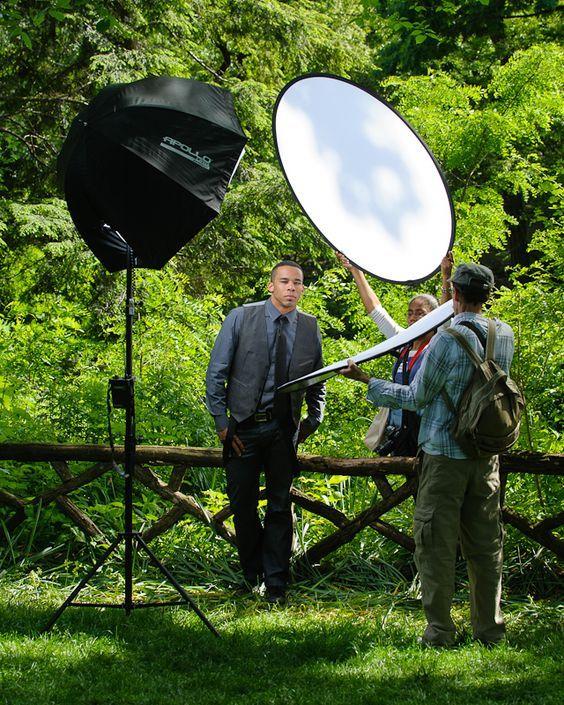 Shooting Outdoors: Erik Valind On Headshots In The Park
