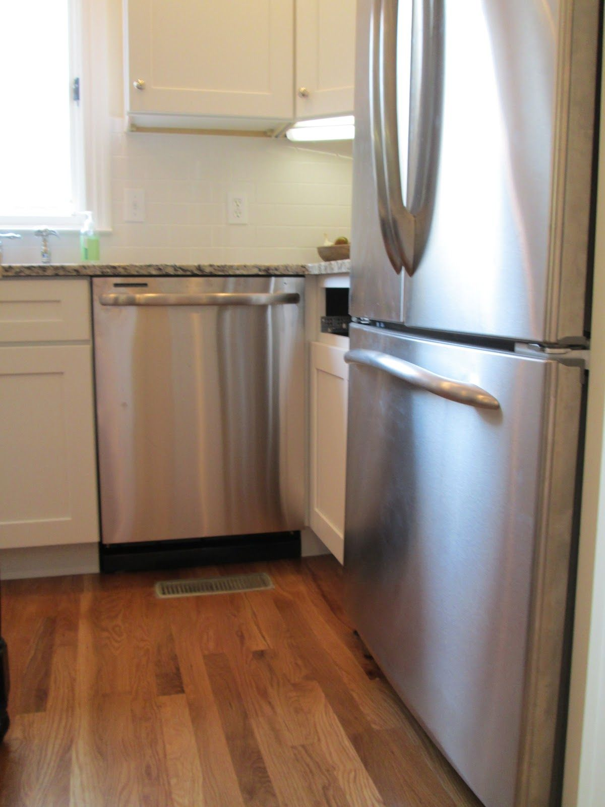 What I Dont Want To Happen Where The Drawer Wont Open On The Cabinet Adjacent The Dishwasher Kitchen Redo Kitchen French Door Refrigerator