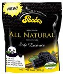 Panda licorice.  Yum.  Not artificial.  Also, catchy jingle that plays on their website. :P