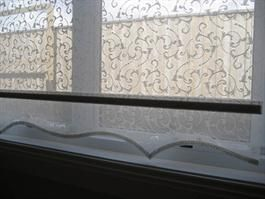 Roller Blinds Shaped Roller Blinds Lace Roller