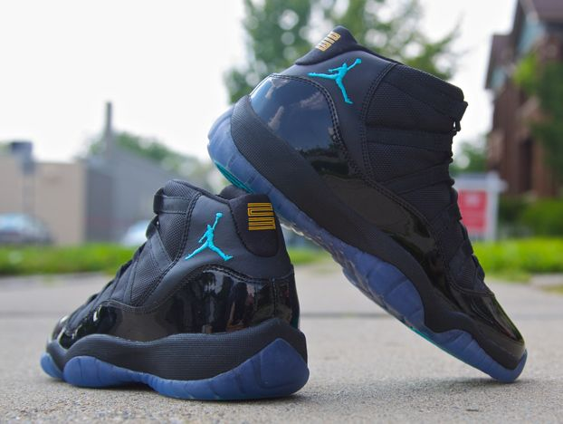 air jordan 11 blue gamma