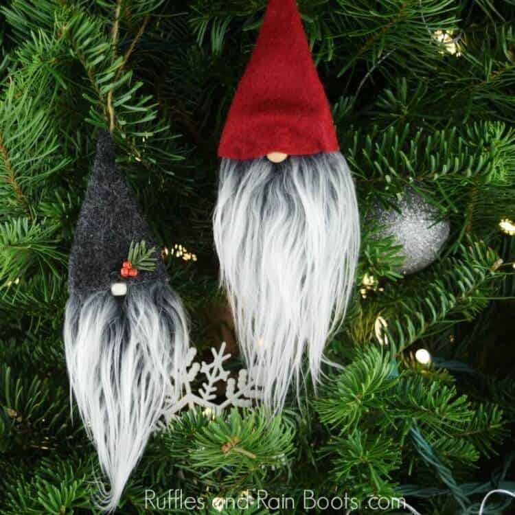 Photo of Christmas Gnome Ornaments – A Quick, Adorable Craft