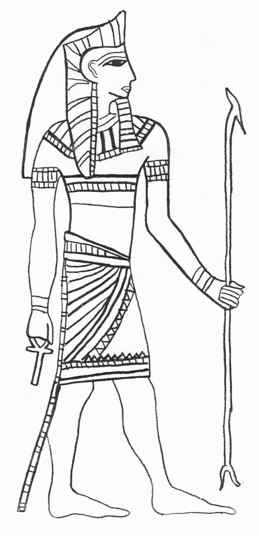 Ancient Egyptian Coloring Pages | Coloring Pages | Pinterest ...