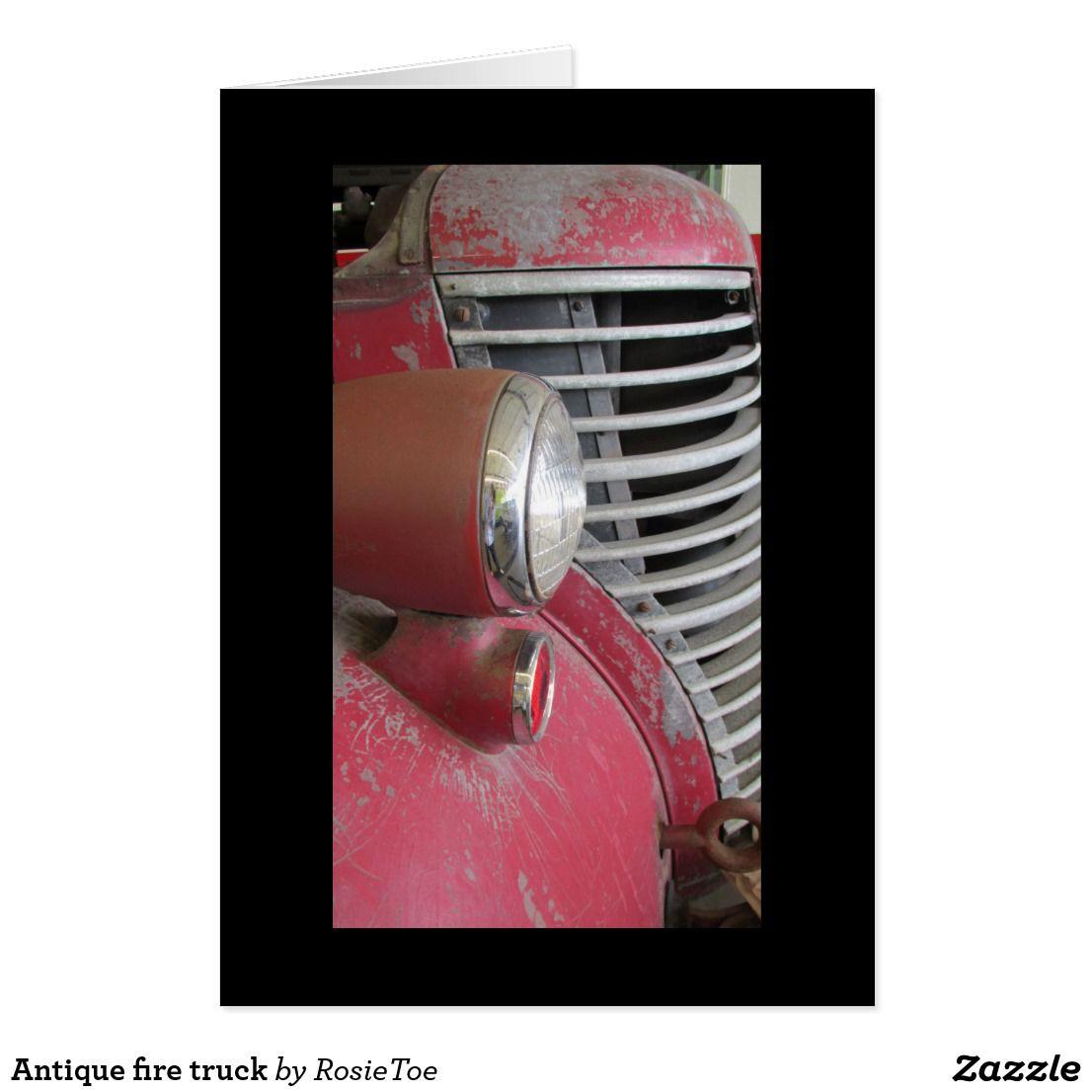 Antique fire truck fire trucks antiques design